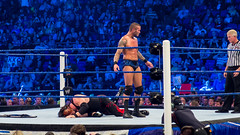 Randy Orton v Kane at Smackdown taping in London 17th April 2012 (dark match)