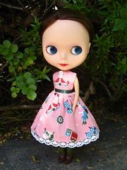 Peter Pan Dress for Blythe