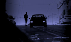 Coasting By (Hans Maso) Tags: sanfrancisco man canon us shadows tunnel skateboard 5d 135mm markiii ef135mmf20l canoneos5dmarkiii
