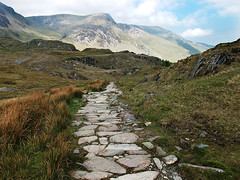 Snowdonia Track and Mountains (neilbrownphotoart) Tags: urban distortion abstract nature weather humorous artistic decay creative photographs various varied artphotography