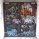 "Graffiti Door <a style=""margin-left:10px; font-size:0.8em;"" href=""http://www.flickr.com/photos/14315427@N00/7315769524/"" target=""_blank"">@flickr</a>"