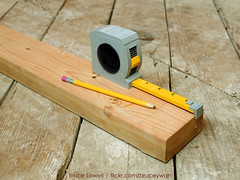 LEGO Tape Measure (bruceywan) Tags: pencil lego bruce tape measure carpentry photostream lowell moc brucelowellcom