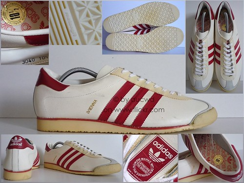 NEW 70`S 80`S VINTAGE ADIDAS VIENNA SHOES TRAINERS a