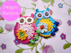 il_570xN.326633912 (Croche Patterns) Tags: patterns crochet owl crochetowl crochetappliques