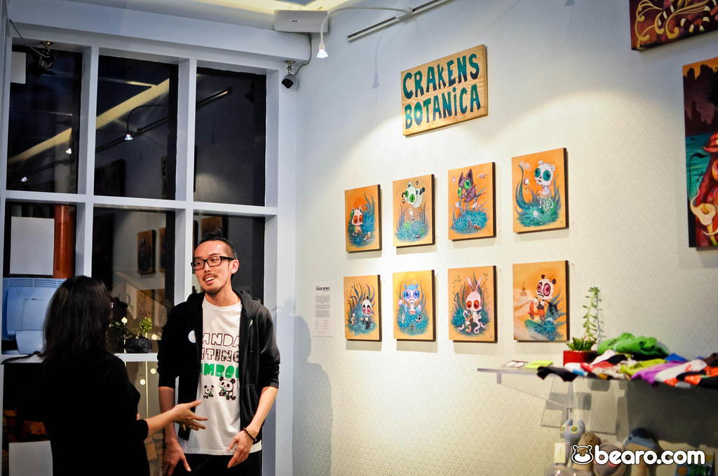 Don't miss Martin Hsu's CRAKENS BOTANICA at Fabric8 Gallery, SF! 6/23-7/16 2012