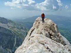 Alpinismo Gran Sasso - via Umberto Cattani