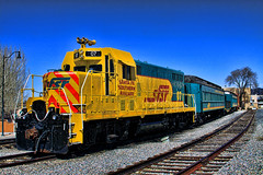 Santa Fe RR (Hylas) Tags: newmexico santafe train depot santaferailroad canon50d