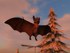 Tokushi Tiny Natural Bat (Yuzuko_Resident) Tags: avatar bat secondlife tiny tokushi