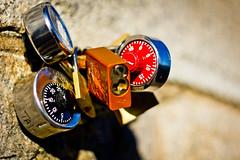 Lockers (FaruSantos) Tags: red orange laranja vermelho locker brooklynbridge cadeados