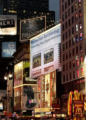 Personal Archiving--Times Square