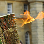 UK - Oxon - Blenheim Palace - Olympic Torch Relay - The Torch