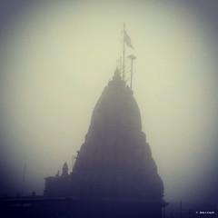 Bhimashankar Temple (_Amritash_) Tags: travel india fog architecture temple god monsoon sacred shiva shankar pilgrim indiangod 13thcentury hindushrine bhimashankar indianphotographer jyotirlinga galaxys