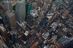 "Where Seventh Avenue Meets Broadway"" (TIA International Photography) Tags: park street plaza new york city nyc travel roof ny building tower tourism rooftop apple architecture america s"