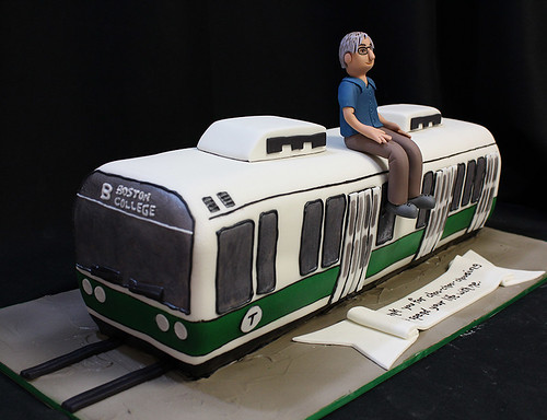 Green Line T Cake