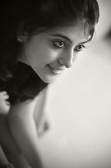 (Amar Jain) Tags: portrait monochrome smile google eyes candid hyderabad