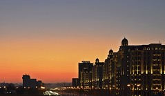 Sunset in Baku (Samir Cabbarov) Tags: city sunset nikon baku azerbaijan nights d5100