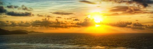Sunrise Across the Seas