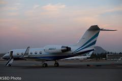 N883LS G-IV Las Vegas Sands Corp (KSBD Photo) Tags: las vegas airport bur burbank sands corp bobhope giv kbur n883ls