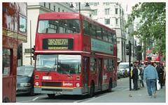 M357 at Charing Cross (D464-Darren Hall) Tags: gye357w metrobus mcw londongeneral 77a m357