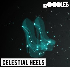 [2.oodles] Celestial Heels (2.oodles) Tags: mesh shoes heels heel 2oodles star constellation celestial dipper erect pasta oodles sl sky flickr stars luxury kawaii cute fashion adorable