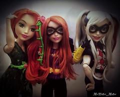 The Gotham Girls part 2 (Mr.Hatter_Matter) Tags: dcsuperherogirls harleyquinn poisonivy batgirl