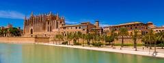 Catedral de Palma de Mallorca. (Jononse) Tags: catedral cathedral palmademallorca balearicislands islasbaleares mallorca parquedelmar park nofilter history medieval