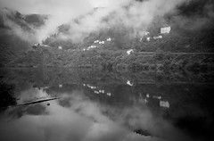 untitled (Zimthiger) Tags: spain zimthiger landscape landschaft bw sw nebel fog fuji xt1 caminodesantiago caminoprimitivo