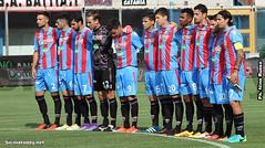 minuto di silenzio Catania (SiciliaToday) Tags: catania juve stabia lega pro stadio massimino calcio