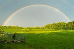Over the Rainbow (Edoardo Angelucci) Tags: piedmont italy edoardo angelucci photography green rainbow sky geo:lat=45521341 geo:lon=8160159