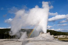 Castle Geyser (YuriZhuck) Tags: us usa wy wayoming nature landscape geyser geothermal eruption spring yellowstone park steam