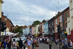 (IlPoliedrico) Tags: londra london england inghilterra nottinghill market portobelloroad colors buildings crowd