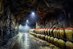 Cave #88 (Pai Shih) Tags: tunnel88  landscape cave tunnel taiwan cave88 wine matsu sea