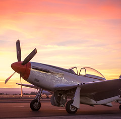 P51-D (sbadger91) Tags: airplane airshow sunset madrasoregon oregon airshowofthecascades warbirds wwii worldwarii fighterplane airplanes aircraft vintage sbadger91 nikon nikond750 tamron70200mm p51 p51mustang