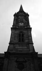 Tron Kirk (richardr) Tags: tron kirk tronkirk clock spire steeple tower blackwhite blackandwhite church building architecture scotland scottish edinburgh britain british greatbritain uk unitedkingdom europe european history heritage historic old