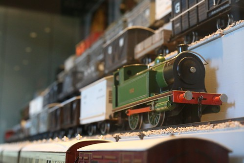 26th August 2016. Model Railway Stock, The Railway Museum at Penrhyn Castle, Bangor, Gwynedd, North Wales.