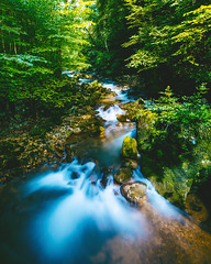 The Source of Life (noson.photo) Tags: nature forest waterfall stream creek longexposure lonexpo nikon tamron d5200 smooth dreamy mood moody trees green blue