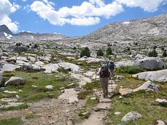 Heading toward Donohue Pass (Mike Dole) Tags: johnmuirtrail anseladamswilderness sierranevada california inyonationalforest