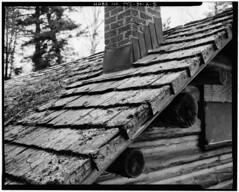 Beaver Cabin Cedar Shake Roof (southofbloor) Tags: whitedeerlakecamp mccormick architecture log building cottage cabin michigan adirondack