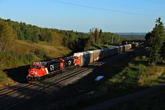 Becks Road (chief_huddleston) Tags: cn canadiannational m357 et44ac 3106 3093 ge twinports duluth superior superiorsub train railroad