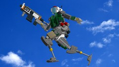 I get up! And nothin' gets me down. (SPARKART!) Tags: titanfall jester lego sparkart toy robot drone soldier mecha