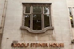 Outside   Rudolf Steiner House   Open House 2016-13 (Paul Dykes) Tags: rudolfsteinerhouse london uk england philosophy spiritualism science biodynamicagriculture anthroposophy openhouse openhouse2016 september 2016 montaguewheeler architecture expressionist expressionism anthroposophicalsociety movement organic metamorphosis