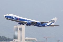 Air Bridge Cargo Boeing 747-8HVF (VQ-BRJ) (TFG Lau) Tags: vhhh hkg hkia hongkong hongkonginternationalairport aviation jet airplane aeroplane spotting planespotting canoneos canon eos eos5dmarkiii airbridgecargo abw ru boeing boeing747 b747 b747f 7478f vqbrj cargoplane cargojet ahkgap