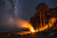 A night under the stars (Mikey Mack) Tags: brucebay westcoast newzealand nz