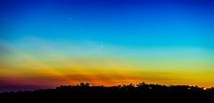 Sunset and Star Arbor (Hinal01) Tags: star arbor magic hour sunset color light dusk nthu taiwan rainbow landscape mountain a7 sel2870 70mm f8 ilce7 sky amazing photographers