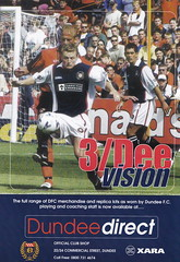 Dundee vs Rangers - 2000 - Page 7 (The Sky Strikers) Tags: dundee rangers scottish premier league spl bank of scotland dens park matchday magazine one pound fifty
