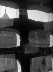 Architecture school design studio-  window precast concrete grille B+W sheet 01520 (Graeme Butler) Tags: school melbourneuniversity history heritage government design culture architecture melbourne victoria australia