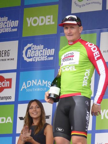 Green jersey: André Greipel