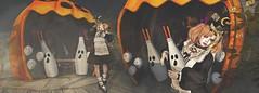 Panic of Pumpkin 2016 in Okinawa ( .  (Im Japanese)) Tags: secondlife sl ss snapshot secondlifefashion secondlifeblog fashion blog blogger event panicofpumpkin halloween furniture cment mofumofu naminoke ro mellopuppy gacha          sim   japan