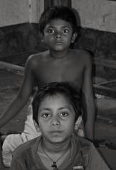 Different thoughts (Shafi Uddin1) Tags: childrensface portrait asianchildportrait asia childs bangladeshi bangladesh eyes human blackwhiteportrait blackwhite ngc supershot