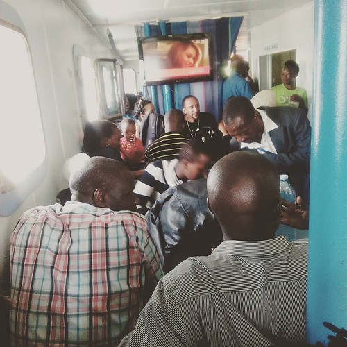 The boat to the main island of Kalangala is packed today! There is some kind of conference that people are traveling to attend.